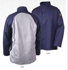 Revco Jf1625 Ng Welding Jacket Black Stallion S 4xl Cotton Back Fr Coat 9oz