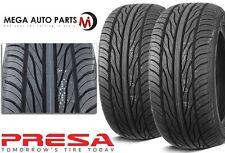 2 X New Presa PSAS1 245/45R17 99W All Season Ultra High Performance Tires