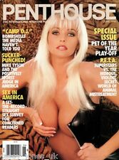 89 Mixed Vintage Penthouse Magazines English/American In PDF on DVD