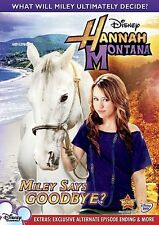 Hannah Montana: Miley Says Goodbye? (2010, DVD NEW)