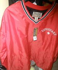 NEW Steve & Barry's XXXL Lifeguard red jacket