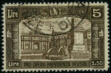Italy 1930 stamps commemorative USED Sas 275 CV $605.00 180617249