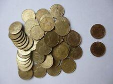 Lot de 52 pièces de 10 centimes de francs en vrac  diverse année