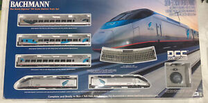 HO Scale Bachmann The Acela Express Electric Train Set   01205 Tested  OB