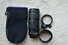 Nikon 70-200mm F/4.0 lente VR G ED