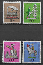 GERMANY, 1969 , TIN TOYS , SET OF 4 STAMPS , PERF , VLH