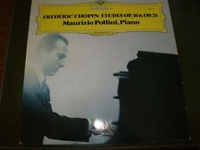 CHOPIN°ETUDES<>MAURIZIO POLLINI<>LP Vinyl~Germany Pressing<>DGG 2530 291