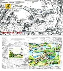 "ALBANIA  2018 "" Europe 2018 - Bridges "" - Booklet MNH"