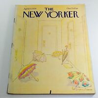 The New Yorker: April 10 1978 Full Magazine/Theme Cover Eugene Mihaesco