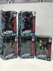 TRANSFORMERS GENERATIONS EARTHRISE RUNABOUT TARGET EXCLUSIVE LOT OF 5 WFC DELUXE