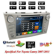 """For Toyota Camry Double Din 8""""inch Car Stereo DVD Player Radio GPS Nav Bluetooth"""