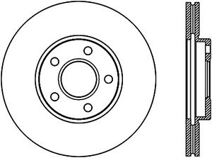 Disc Brake Rotor-Sport Drilled Disc Front Right fits 2010 Ford Transit Connect