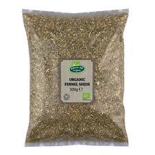 Organic Fennel Seeds 500g Certified Organic