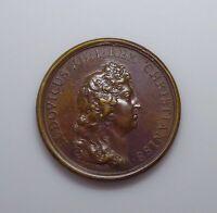 "c. 1661 France - Louis XIV Medal, ""Ordo Et Felicitas""."