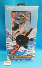Yool Reel Fishing Rod Bundle w/ Fishing Star World Tour for Nintendo Switch NEW