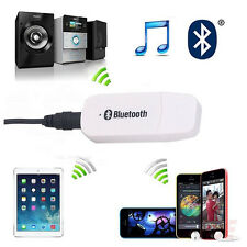 USB Bluetooth Wireless 3.5MM Stereo Audio Music Reciver Adapter