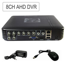 Security CCTV 8CH MINI AHD DVR NVR 3-IN-1 Hybrid Realtime Mobile Video Recorder