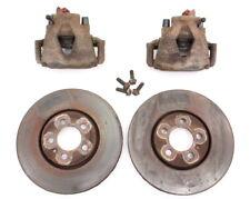 Front Brake Calipers and Rotors Set 93-99 VW Jetta GTI VR6 MK3 5x100 - Genuine
