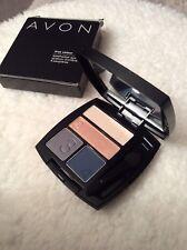 Brand New - Avon True Colour Eyeshadow Quad - Satin For Browns