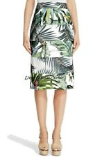 🌟MAX MARA Printed LINEN&COTTON     RUNWAY Skirt    USA4_ IT38_D34_GB6_FR36