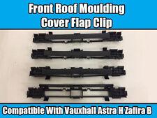 4x coperchio anteriore del tetto MODANATURA SPORTELLO PER VAUXHALL ASTRA H ZAFIRA B Nero 13125719