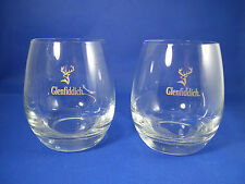 Glenfiddich Single Malt Scotch Whisky Two Glasses NEW B