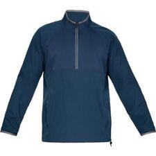 New Mens $85 Under Armour Storm Windstrike ½ Zip Golf Jacket Navy Size 3Xl