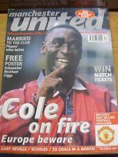 Dec-1997 Manchester United: Official Magazine Vol.05 No.12 - Andy Cole Cover Ima