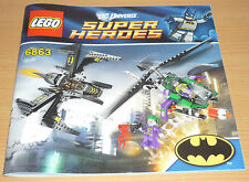 Lego Super Heroes Bauplan 6863, only instruction