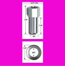Open Cragar SST style Chrome Mag Wheel 1/2 inch RH thread lug nut with washer