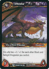WoW Warcraft TCG TWILIGHT OF THE DRAGONS : OBSIDIA X 4