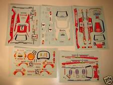 LOT DECALS 1/43 TOYOTA CELICA RALLYE  - COLORADO  DCV010