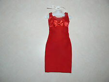 Franklin Mint Red Bow Dress For Princess Diana Vinyl 16 Inch Doll