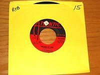 """R&B 45 RPM - CLYDE McPHATTER - ATLANTIC 1092 - """"TREASURE OF LOVE"""""""