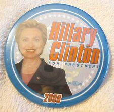 Hillary Clinton Presidential Candidate Collectible Pin -  Hillary for President