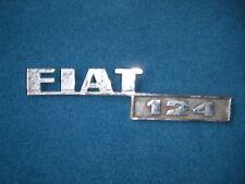 Emblem / Badge Fiat 124 Metall