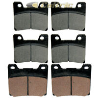 Front Rear Brake Pads for Yamaha VMX1200 V-Max 1200 1993-2007 Front Rear Pads