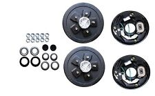 Add Brakes to Your Trailer! Basic Kit 3500# Axle 5 x 5.0  Electric Axel Drum