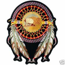 DREAM CATCHER INDIAN  EMBROIDERED 6 INCH MC BIKER PATCH