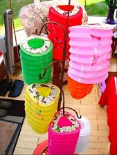 10 CHINESE M&S COLOR PAPER LANTERN WEDDING BIRTHDAY JAPANESE GARDEN PARTY HP