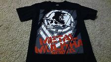 Mens Metal Mulisha Logo Graphic T-Shirt Size S Black Red BMX Motocross OFF ROAD