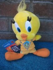 "Looney TunesTweety Pie Football Team -Soft Toy 8"",VGC tag,space balls type"
