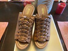 NIB Michael Kors Shoes Westley Mule Acorn Leather Size 7N