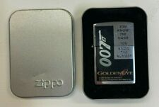1995 Zippo 007 Goldeneye Lighter - With Case - Lighter Personalised