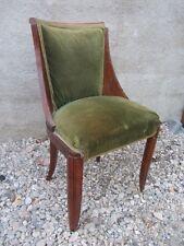 ancien fauteuil de bureau art deco armchair
