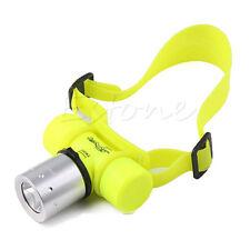 3500Lm T6 LED Diving Waterproof Headlight Head light Lamp Flashlight Torch New
