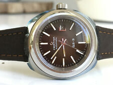 CERTINA DS-3 Automatic STEEL *NOS, BROWN Dial 1976/1978* FEMALE Version