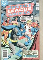 Justice League Of America #172-1979 fn 6.0 JSA  Justice Society Of America DC