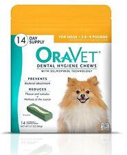 Oravet Dental Hygiene Chews for Dogs - 14 Chews 3.5-9 lbs.