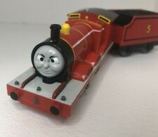 Rare! Angry Flip Face James w/ Track - Thomas the Train Trackmaster - Excl Cond!